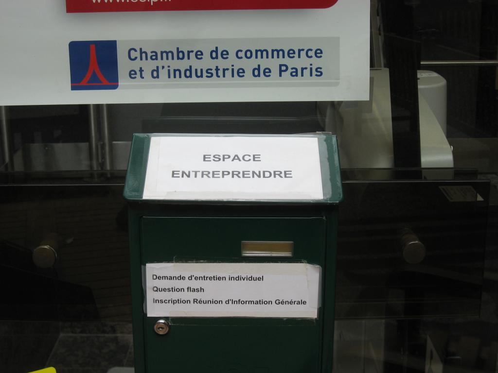 Entreprendre espace for Chambre de commerce internationale paris adresse